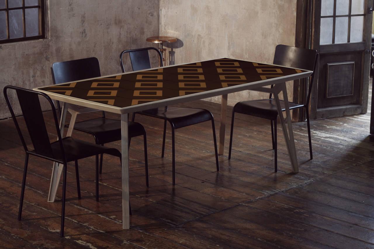 Tavolo Esterno Con Piastrelle : Mosaicool un tavolo mosaico da inventare ogni giorno come