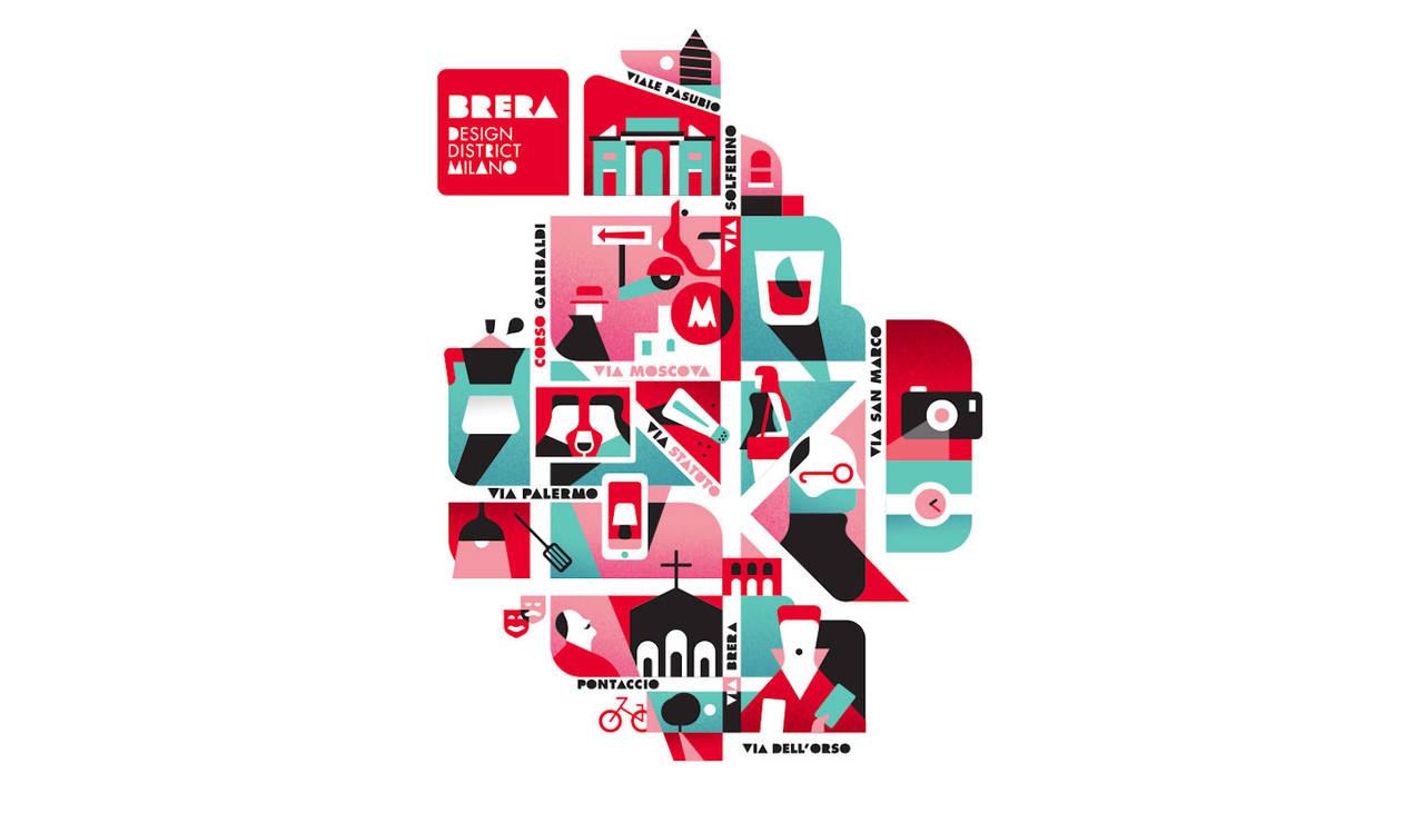 Presentato il brera design district 2017 for Design brera