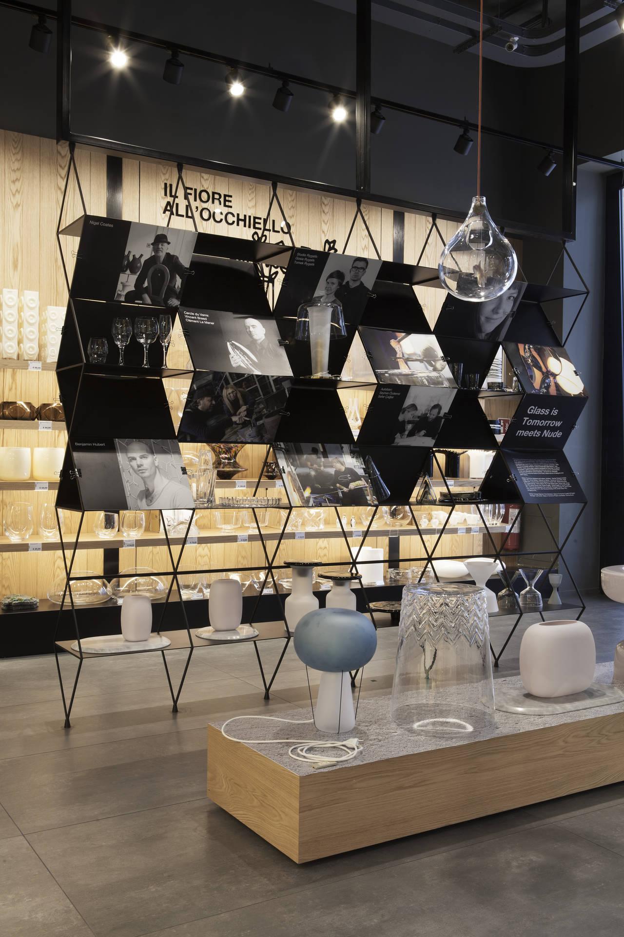 Nuova apertura pasabahce a milano il negozio del vetro for Store arredo