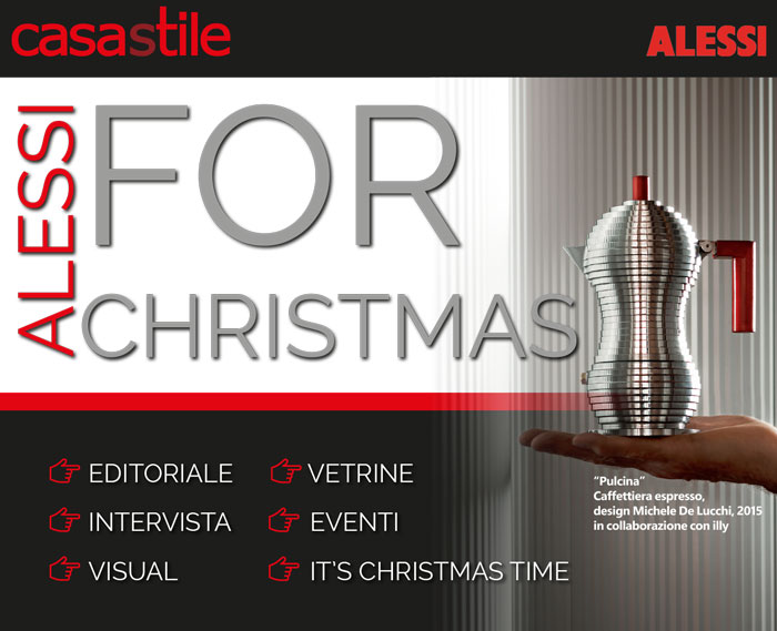 Alessi for Christmas - Natale 2015 - retail