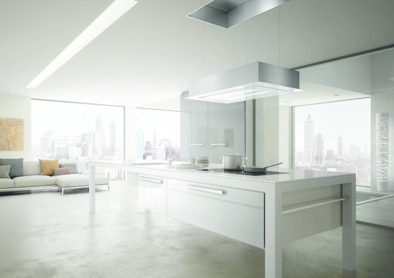 Cappa a scomparsa nel soffitto colonna porta lavatrice - Cappa cucina a scomparsa ...