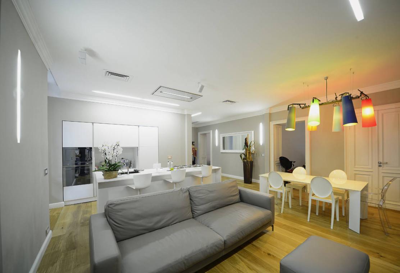Elica per la ristrutturazione di un open space a torino for Cucina open space
