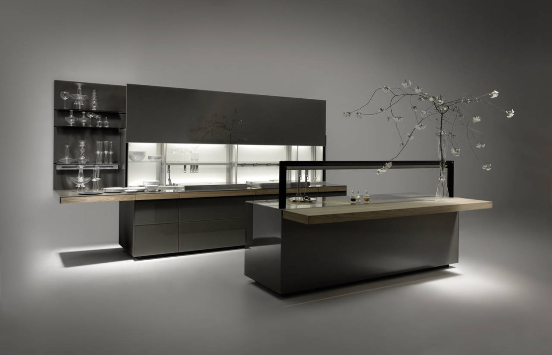 La cucina genius loci di valcucine ambiente cucina for Riviste arredamento cucine