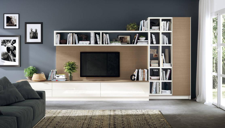 Scavolini interpreta la zona living ambiente cucina for Idee arredare soggiorno