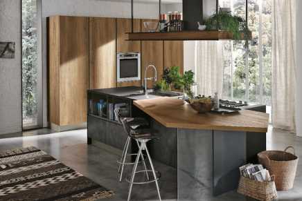 Stosa propone infinity ambiente cucina for Infinity stosa