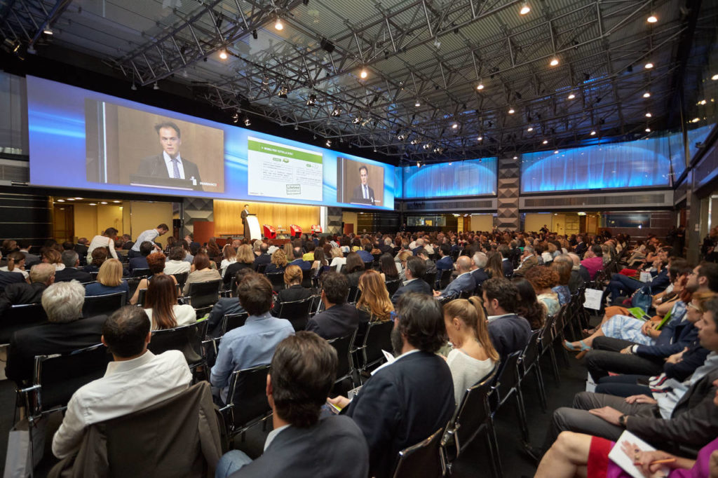 Roberto Snaidero, presidente FederlegnoArredo, intervenuto al 2° Pambianco Design Summit