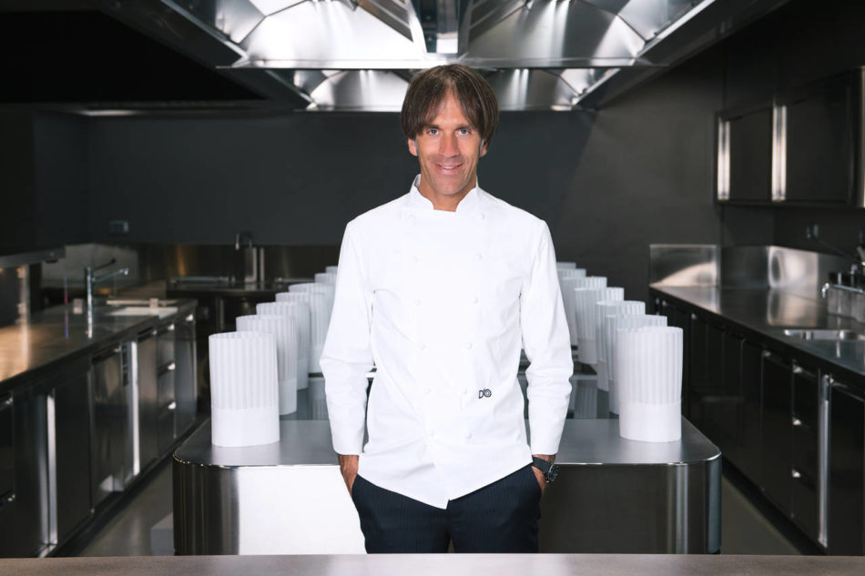 Due cucine per il nuovo Ristorante D'O di Davide Oldani