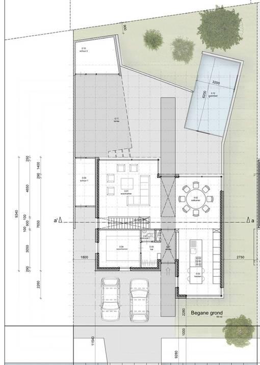 Casa Olanda_Zone Zuid Arch._Pianta