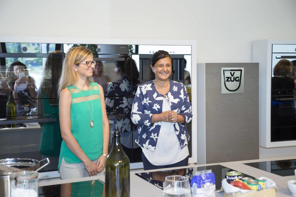 Laura Onorato, biologa, insieme a Paola Massobrio di Frigo 2000, ha incontrato la stampa per parlare di nutrizione sana