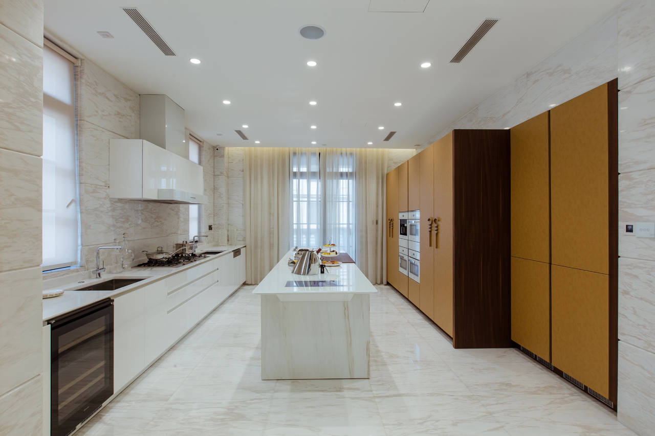 La cucina Wind di Toncelli per il progetto residenziale di Shanghai