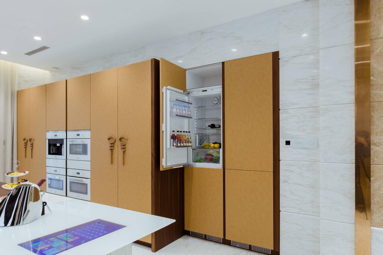 La cucina Wind di Toncelli per il progetto residenziale Hong Qiao 239 di Shanghai