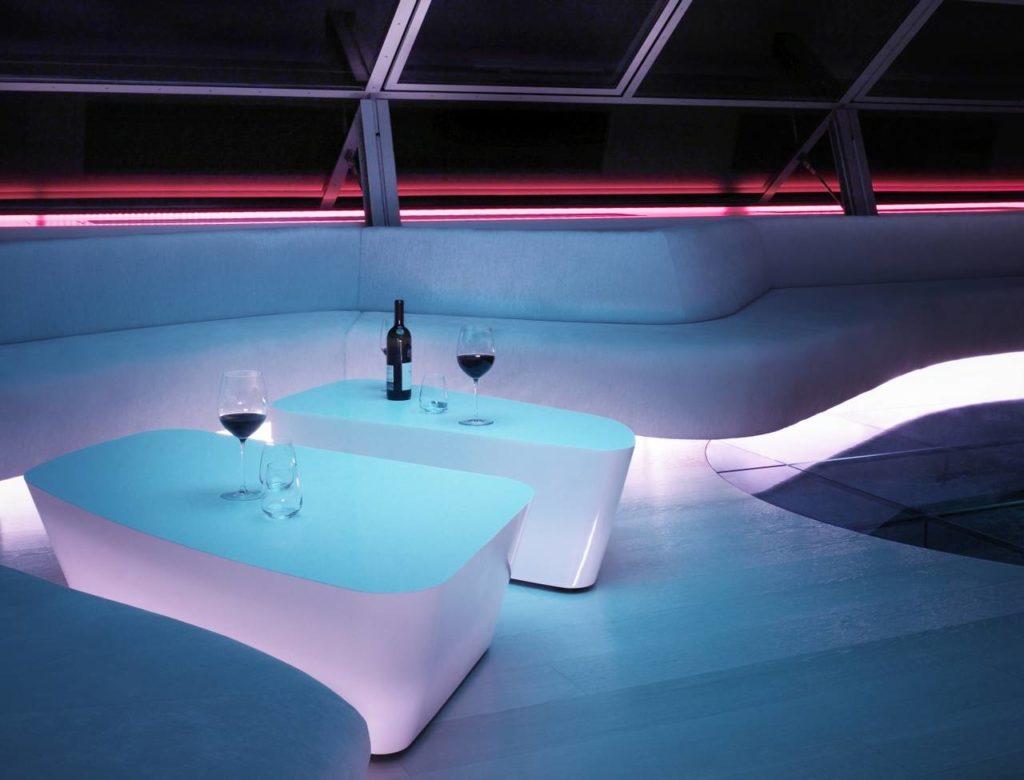 Progetto HI-MACS_zona relax _notte-tagl