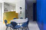 Colore per un piccolo spazio cucina
