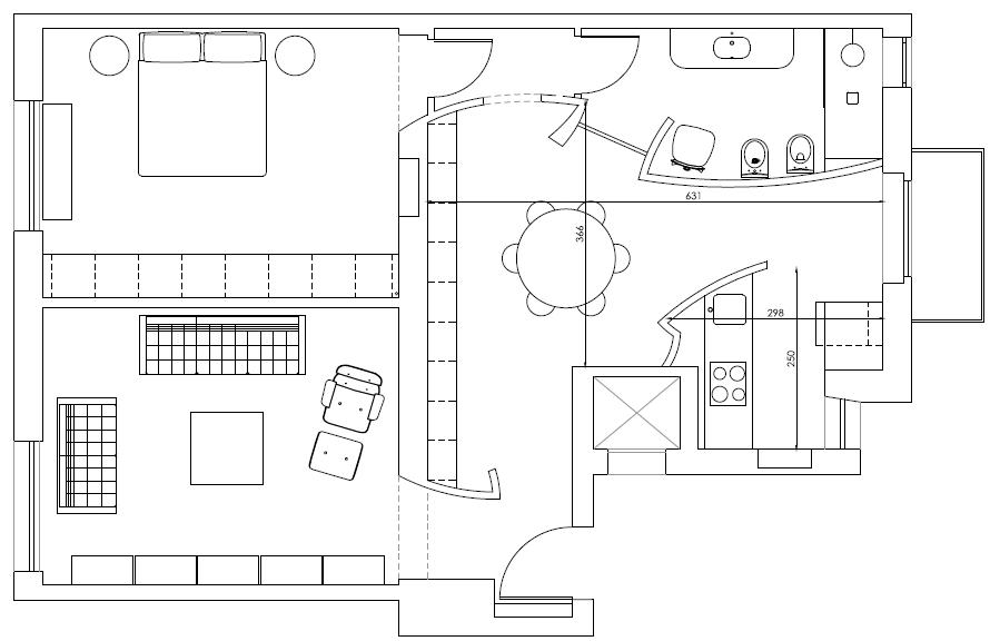 ElenaCerizza_casaTropicale_pianta appartamento