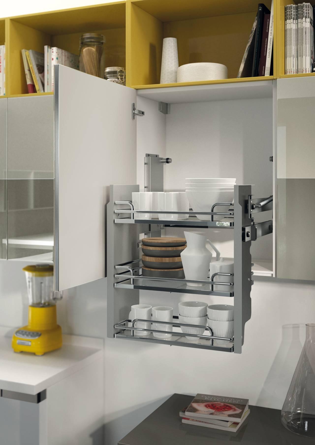 Accessori funzionali in cucina - Cestelli estraibili per cucine ...