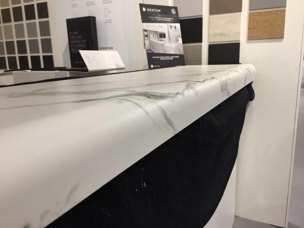 Al Sicam 2016 Cosentino ha presentato il piano in Dekton curvato