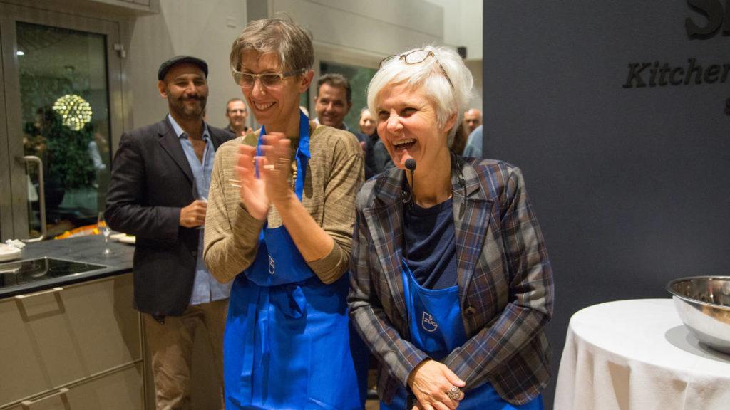 Gli architetti Francesca Fezzi e Elisabetta Frazuoli dello studio FZI Interiors