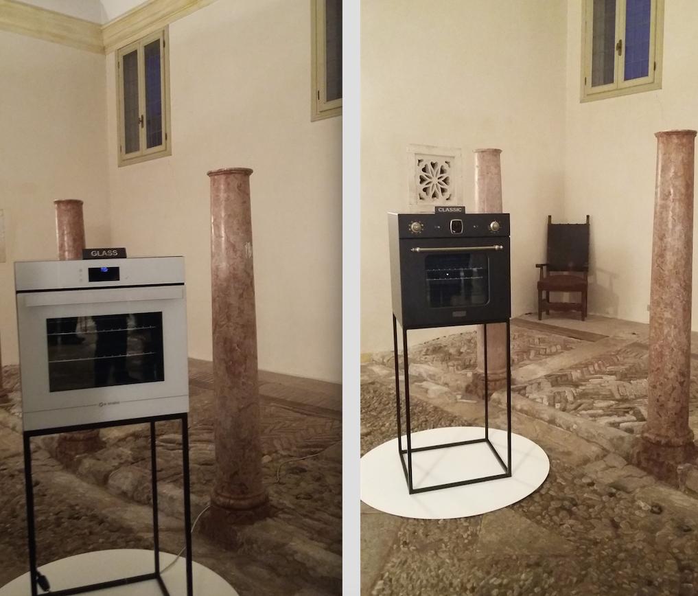 Il nuovo forno NEXT disegnato da Alberto Brogliato e Federico Traverso nella dulce versione Glass e Classic