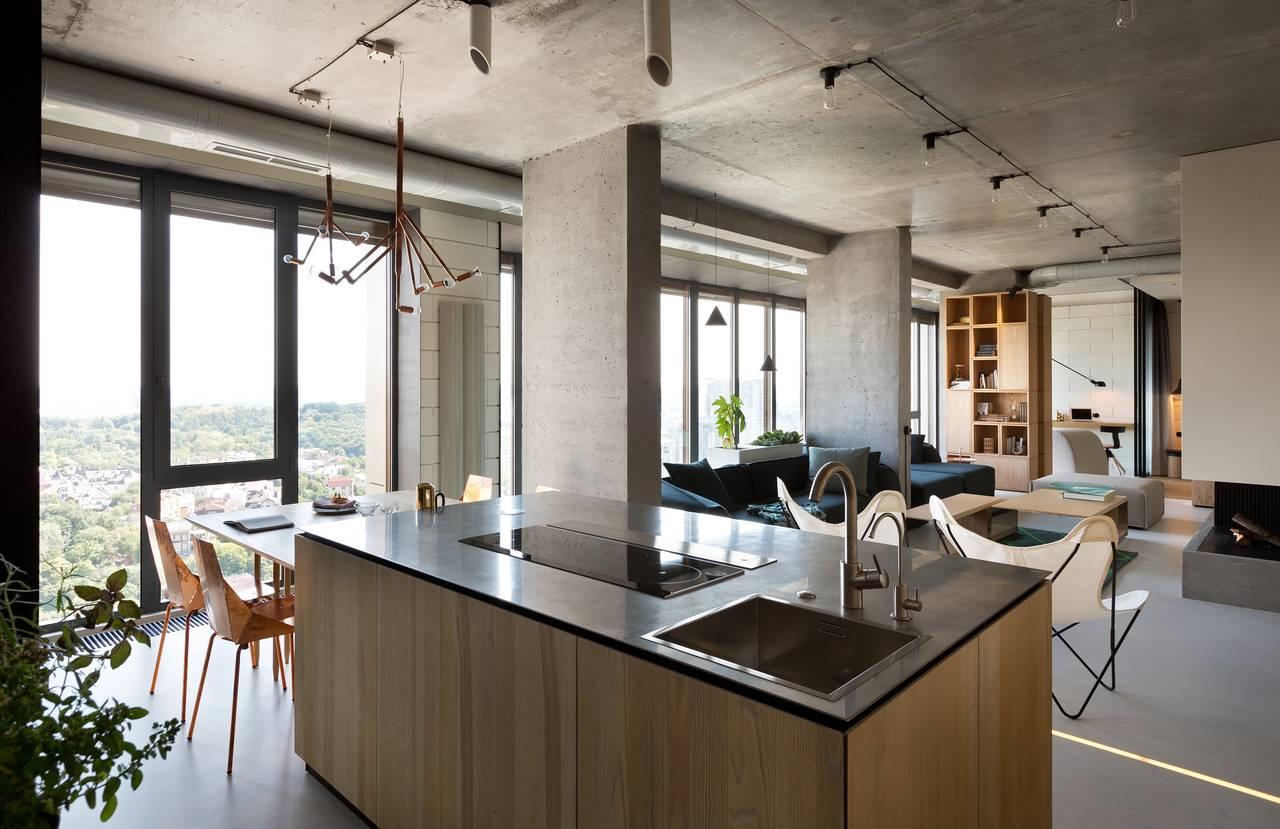 Cucina con vista su Kiev | Ambiente Cucina