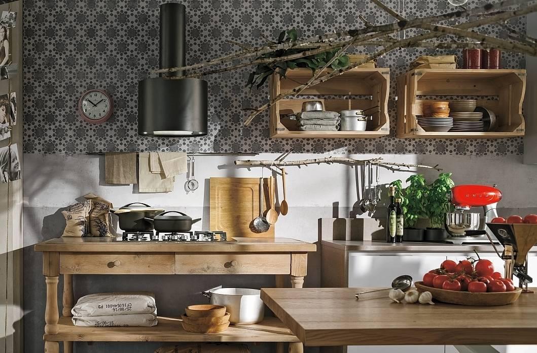 Il legno vissuto dello stile industrial ambiente cucina - Industrial style cucine ...