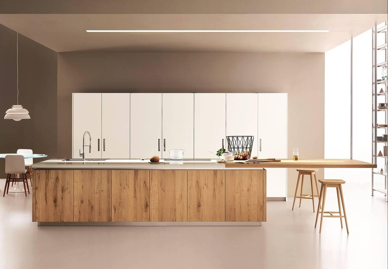 Il calore delle cucine contemporanee ambiente cucina idee per la vita di tutti i giorni - Veneta cucine lounge ...