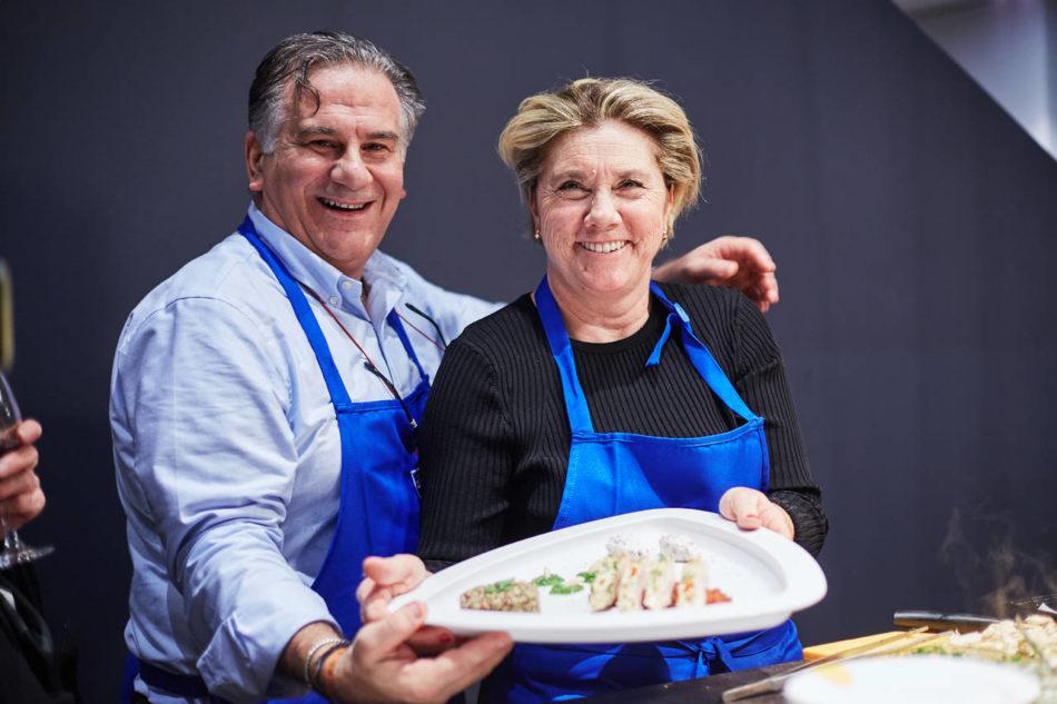 Andrea Grassi e Susanna Santi, dello studio Genius Loci, si sono aggiudicati il primo premio delle ShortcookingRaces promosse da da Siematic, V-ZUG e Marmo Arredo