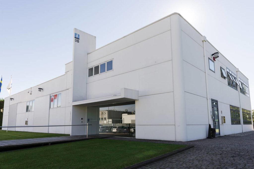 Lo stabilimento produttivo di 3B, il fornitore italiano che sviluppa le ante KUNGSBACKA per Ikea, a Salgareda (TV)