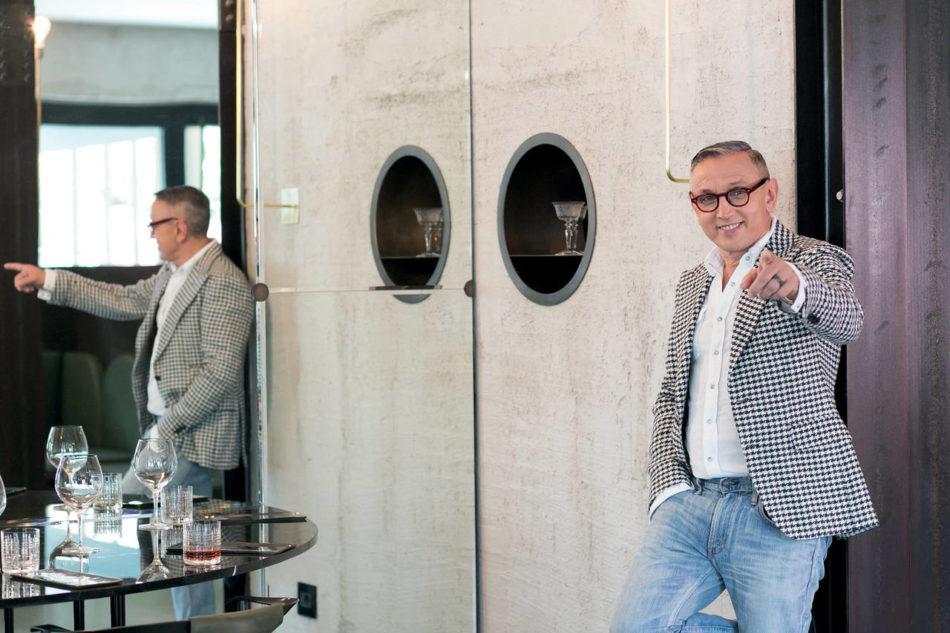 Bruno Barbieri, grande chef e testimonial di Franke dal 2014