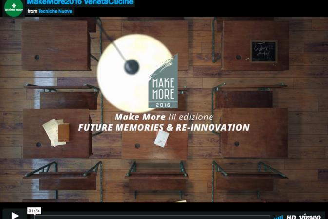 Make More, il concorso creativo di Veneta Cucine