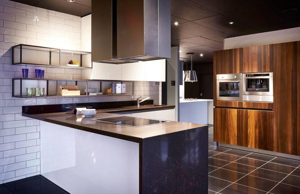 Way è la cucina disegnata da Michele Marcon e fa parti della collezione Sistema