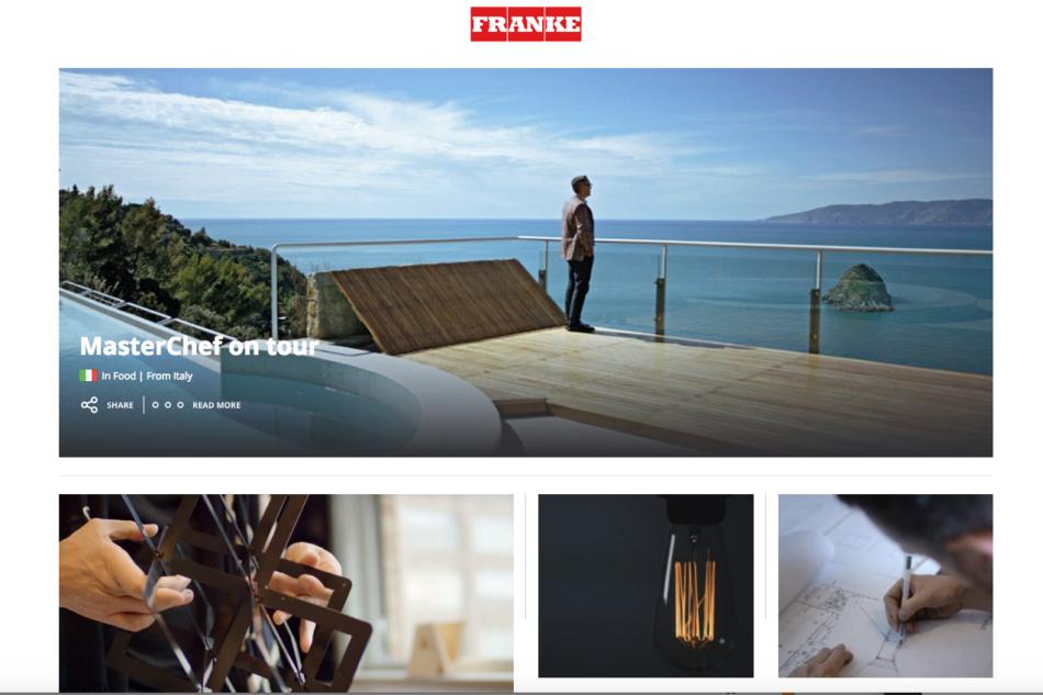 Nuovo blog per Franke