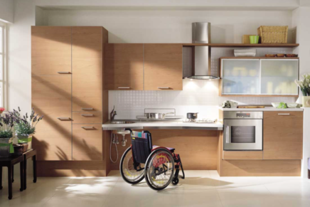 Per rendere accessibili a tutte le sue cucine, Scavolini ha messo a punto Utility System