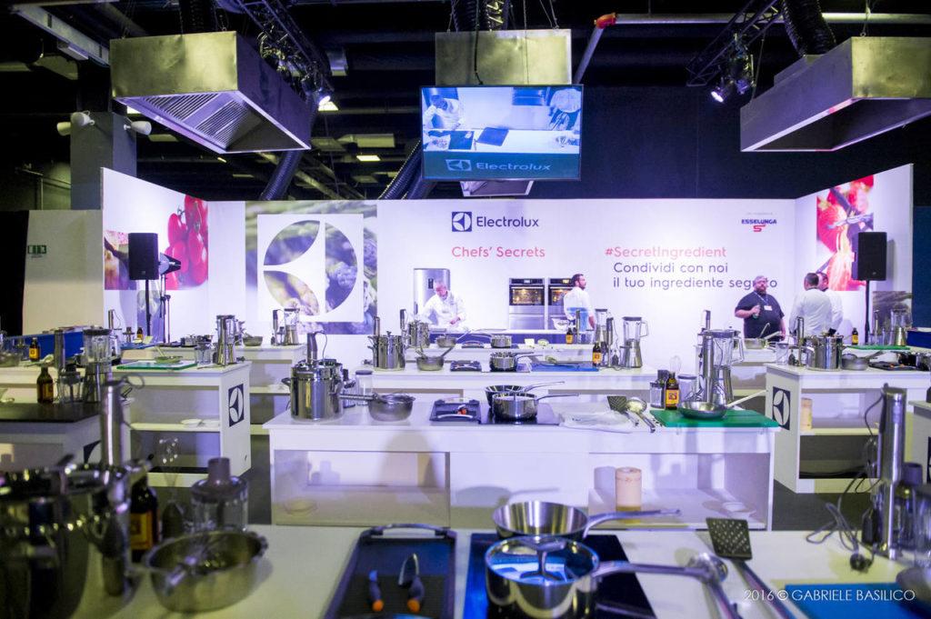Lo spazio Electrolux a Taste of Milano edizione 2016