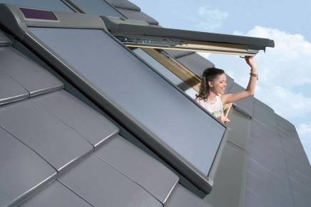 Finestra per tetti a doppia apertura FPP-V preSelect