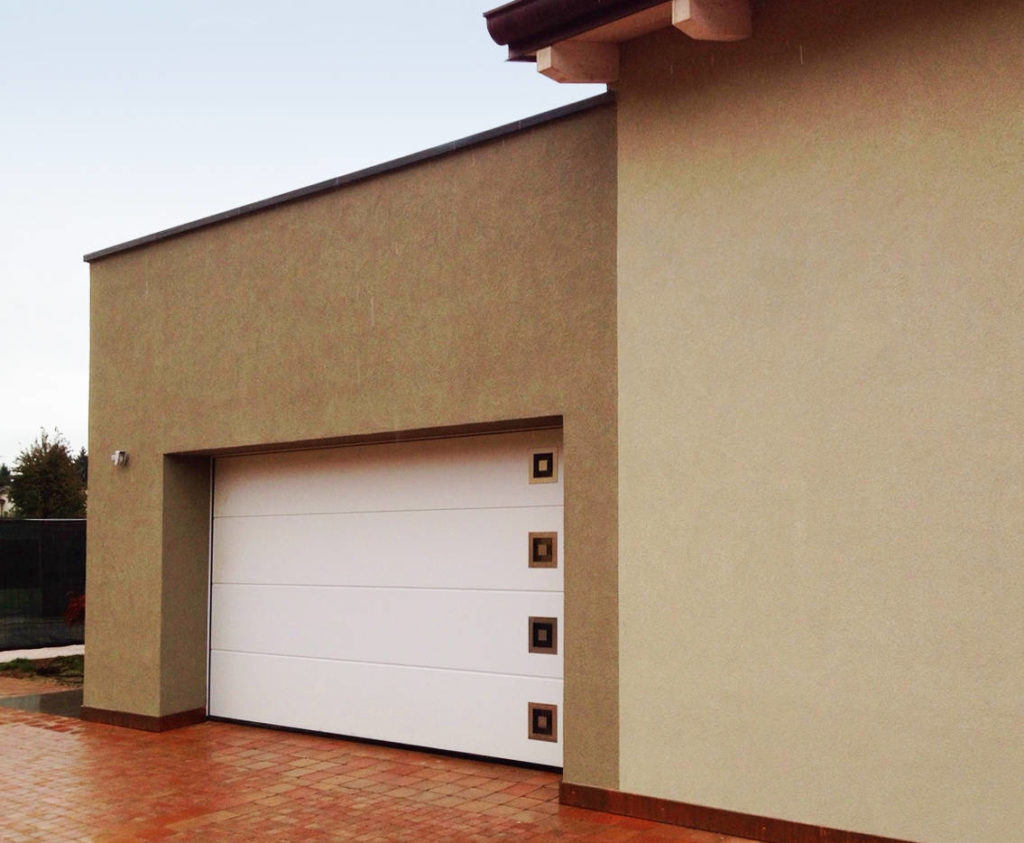Villa Unifamiliare a Parma - Portone Lpu 40 Silkgrain con inserti - foto 2