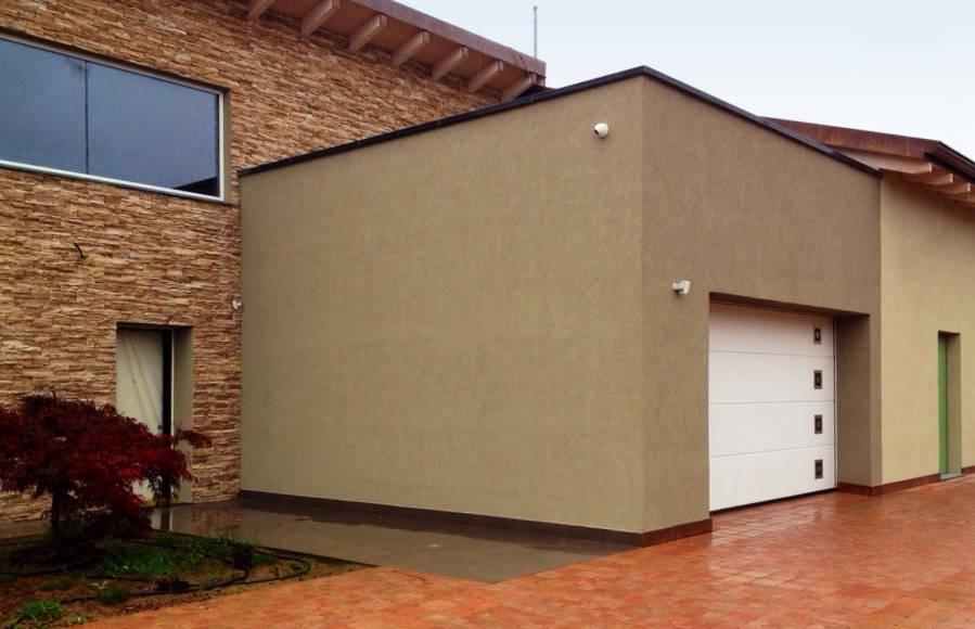 Villa Unifamiliare a Parma - Portone Lpu 40 Silkgrain con inserti - foto 3