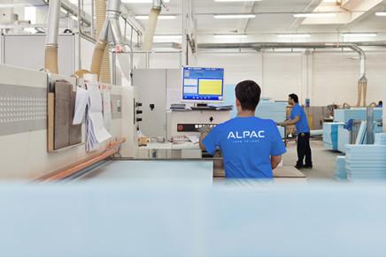 Alpac sempre più efficiente con il Lean production System