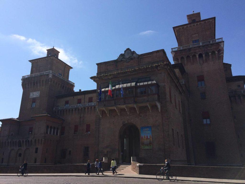 Castello Estense di Ferrara: sede dell'Assemblea generale ANFIT