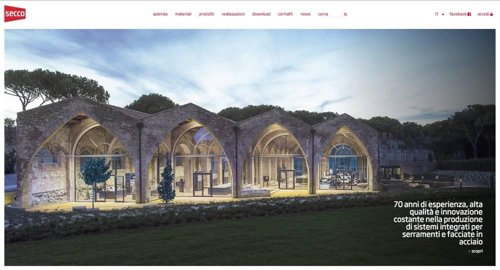 Nuovo sito web Secco Sistemi