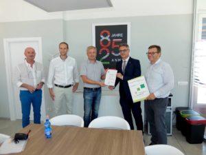 Nuova certificazione Casaclima per Internorm