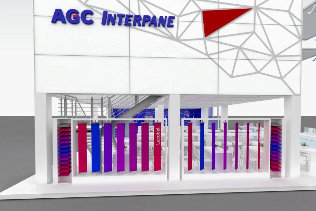 Nuovo stand AGC Interpane presso la fiera Glasstec 2016
