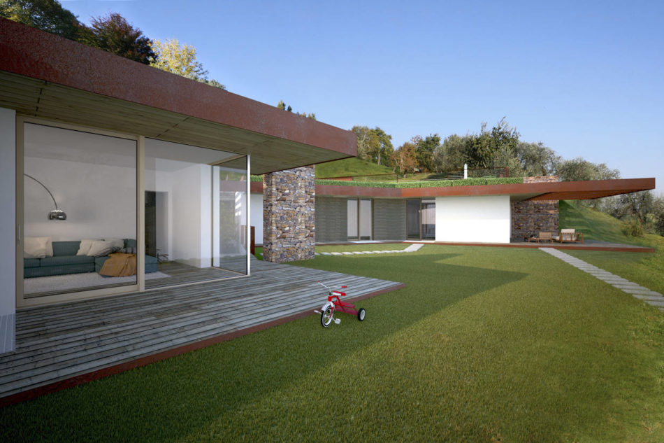 Casa S due edifici per un unico grande progetto