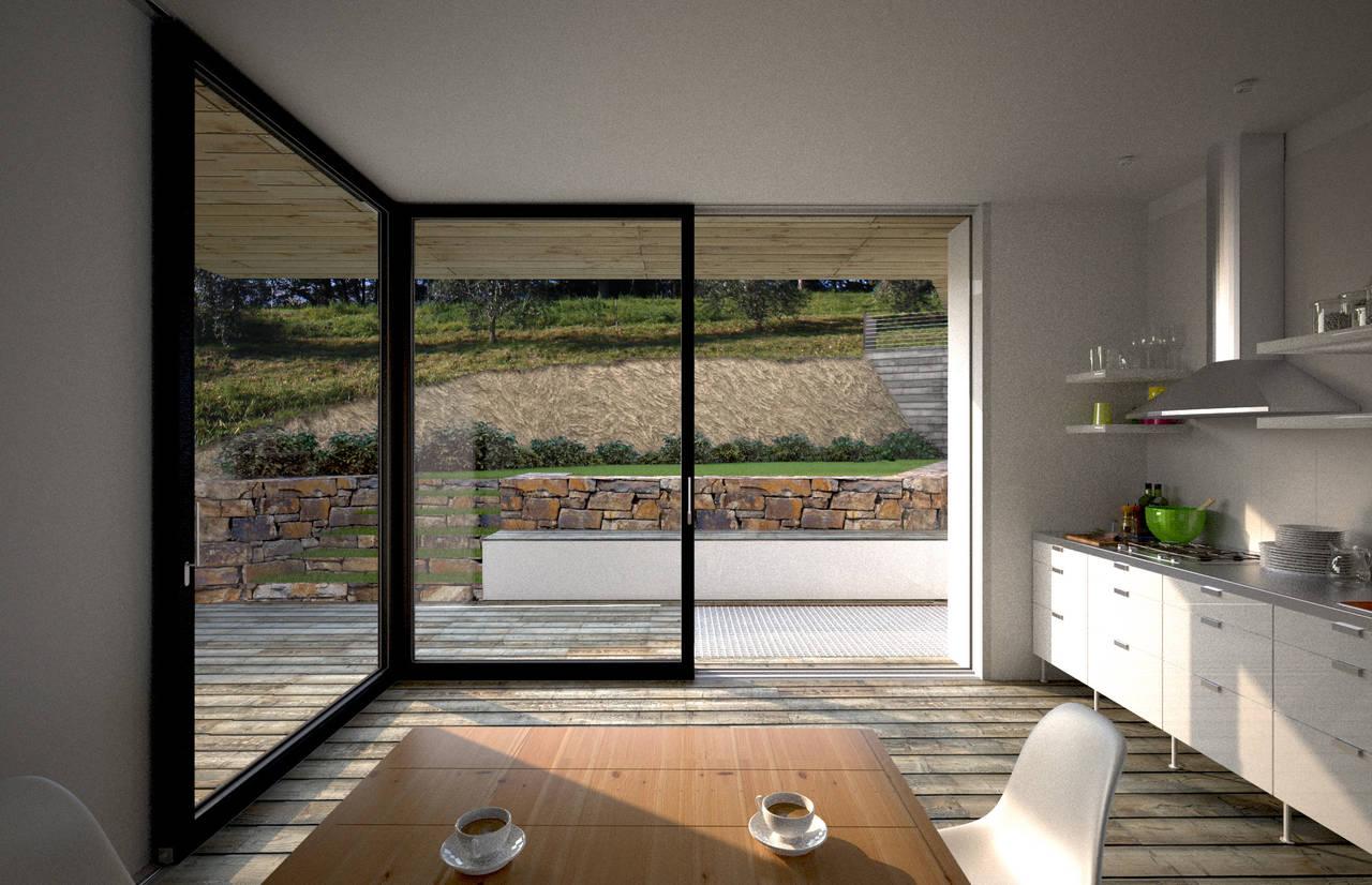 Casa S progettata dallo Studio 3xL