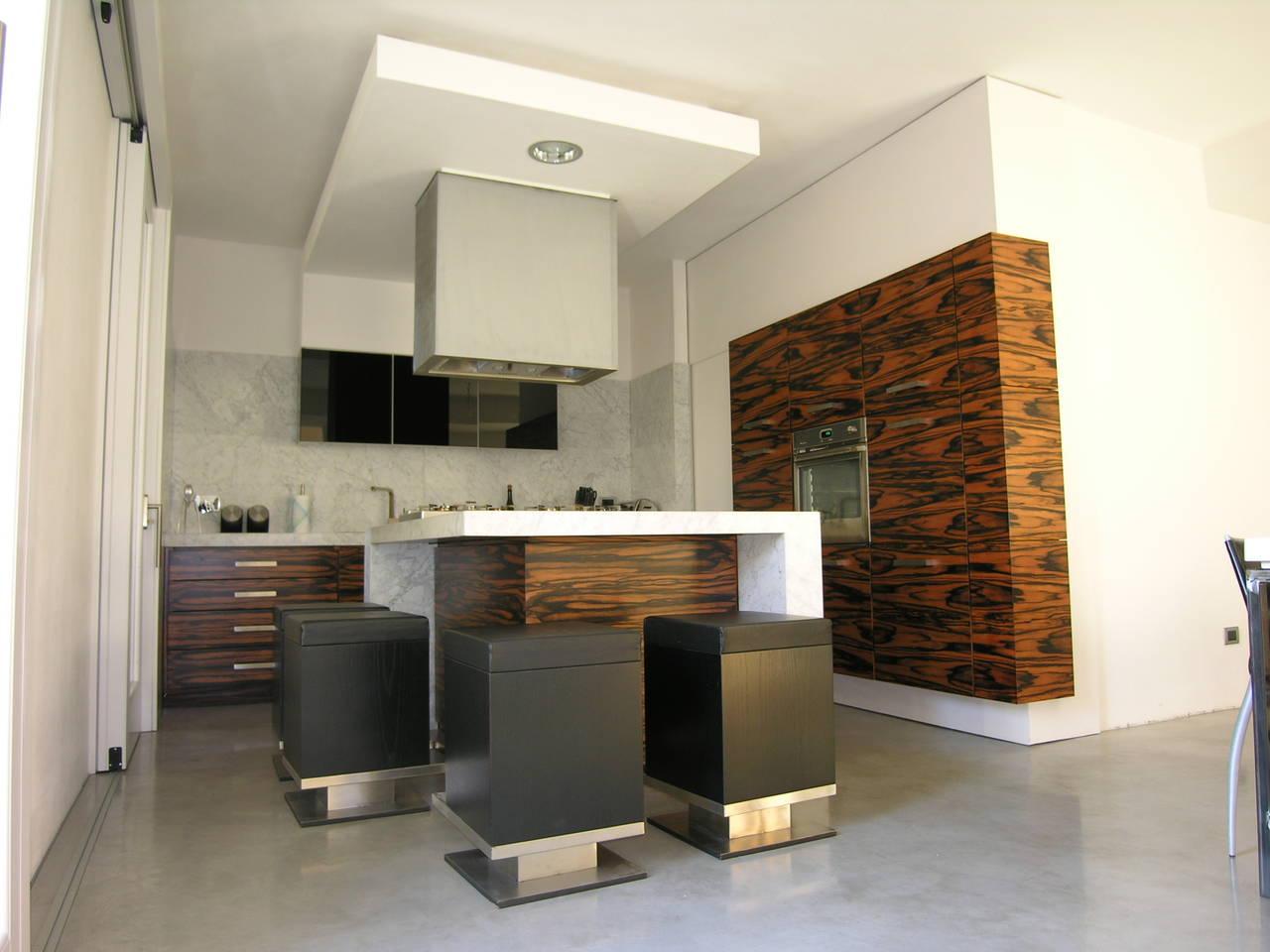 Una residenza progettata dal proprietario in sintonia con le proprie esigenze di vita
