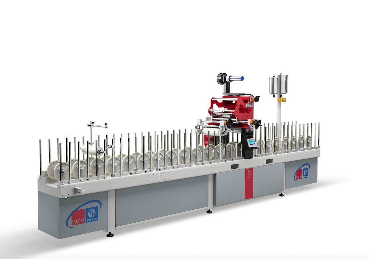 Macchina di piccole dimensioni NWE.300.5500 per la produzione di rivestimento profili e pannelli