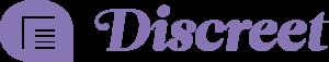 logo discreet