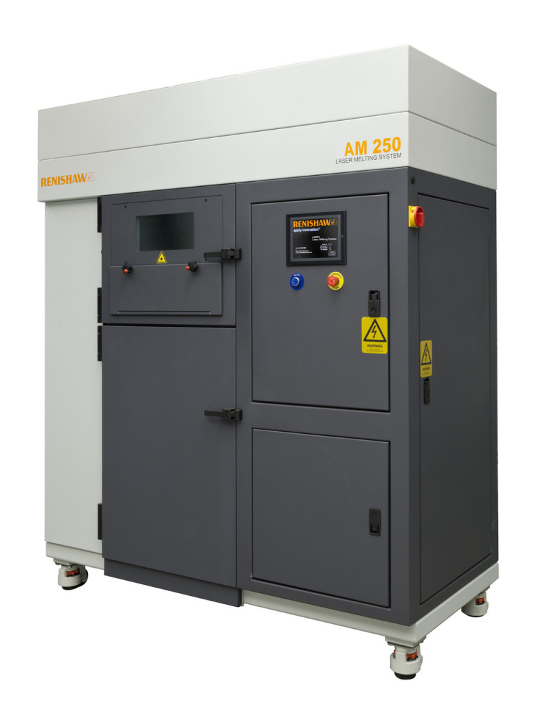 Il sistema AM250 di Renishaw
