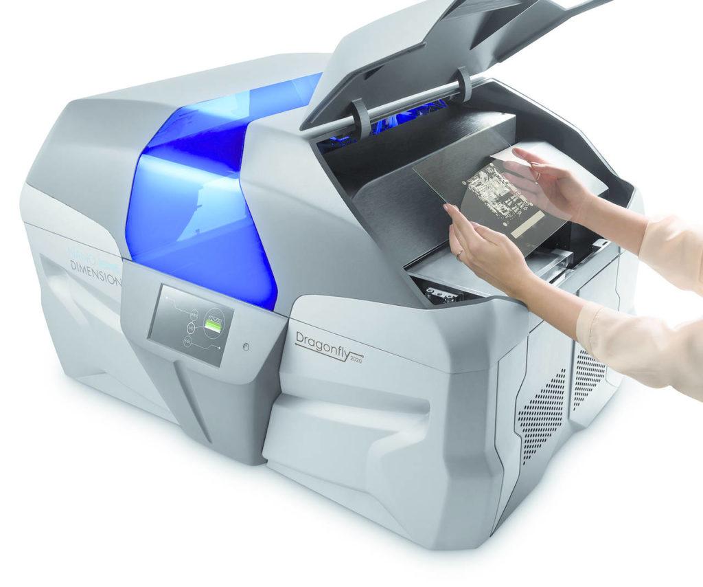 La stampante 3D per l'elettronica DragonFly di Nano Dimensions