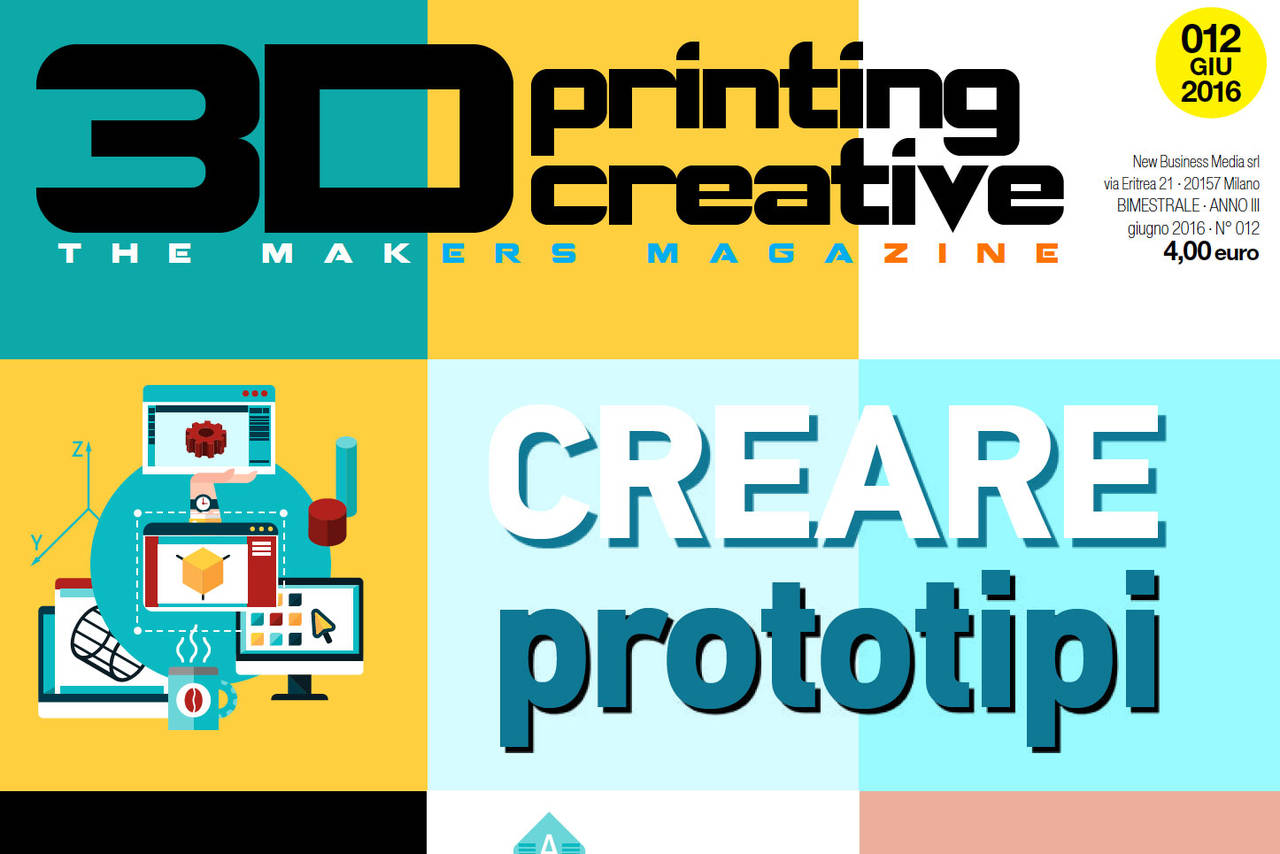 Cover 3D Printing Creative n12 2016