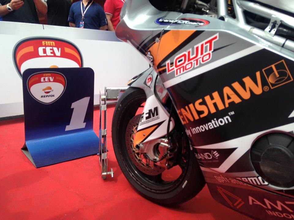 Transfiormer Moto2 Renishaw
